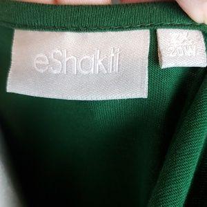 eshakti Dresses - eShakti Forest green 100% cotton dress size 2x